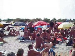 Oral sex On Nudist French Beach