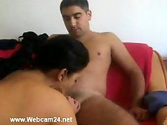 Dilettante Arab Couple Getting down and dirty on Web camera