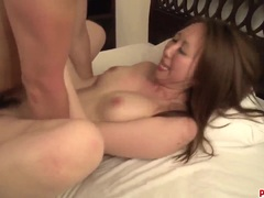 Jaw dropping anal with amazing Japanese hottie