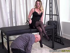 Kenzie Madison Orders Two Black Bulls To Service Her Needs - Cuckold Sessions