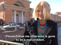 Two Russian babes take his love pole and furthermore a toy