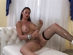 Shemale Masturbation